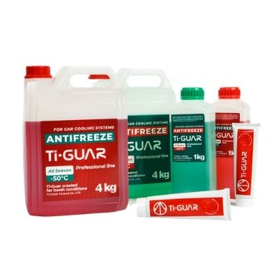 Antifreeze and CVJ grease